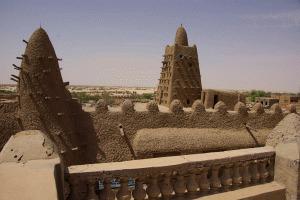 Auf den Dächern Timbuktus