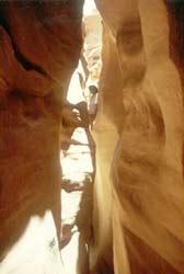 Schlucht auf Sinai