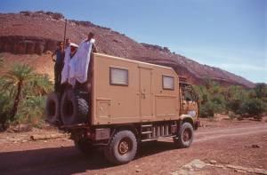 Der AMR-MAN als Transporter...
