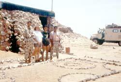 Militärposten in Ras Muhammed