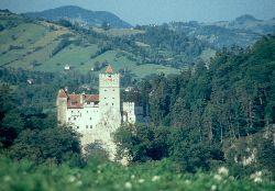 Draculas zu Hause, die Törzburg
