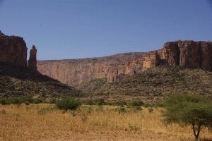 Tafelberge im Peul-Gebirge