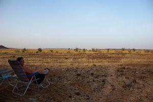Der letzte, absolut ruhige Wüstenstellplatz