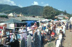 Markt in Saliste