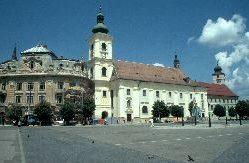 Der schöne Marktplatz von Sibiu
