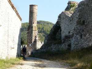 alten Festungsruinen...
