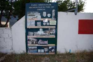 Nato-Stützpunkt mit dem integriertem Orikum.