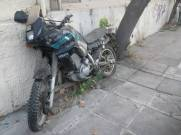 Motorrad in Heraklion