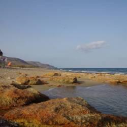 Einsame Bucht auf Kreta