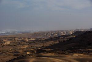 und Sand-Dünenformationen.