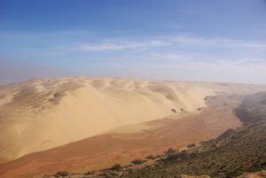 Wir folgen dem Oued ins Landesinnere...