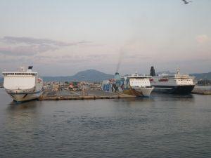Olbia - Ziel vieler Fähren
