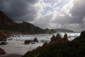 des Meeres bei der Costa Paradiso.