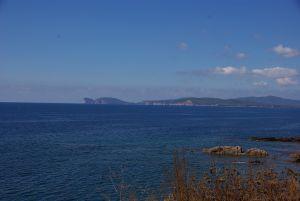 Der Blick Richtung Capo Caccia.