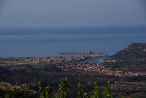 Blick auf Bosa Marina.