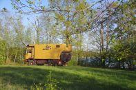 Kurz vor der lettisch-russischen Grenze, unser schöner Übernachtungsplatz