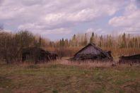 ...verlassene Ansiedlungen....