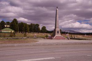 Auf dem 1711 m hohen Seminskij-Pass Anfang Juni...