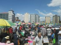 ...auch einen privaten Flohmarkt.