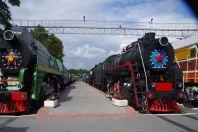 Das größte Eisenbahnmuseum östlich des Urals...