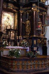 Swieta-Lipka Kircheninnenraum