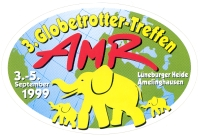 AMR-Treffen-Aufkleber 1999