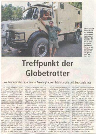Treffen-Vorschau Landeszeitung Lueneburg 2009