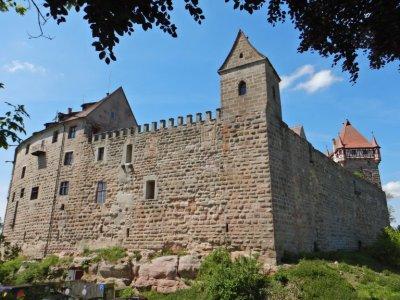 Weiter in Richtung Nürnberg geht es zur Burg Abenberg...
