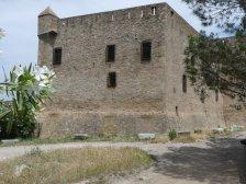 Die Burg von Aleria - nicht schön, aber wohl zweckmäßig