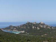 Golfe die Roccapina, mit dem Löwenfelsen und Torre