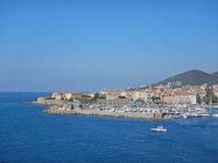 ...weisen den Schiffen den Weg nach Ajaccio, unsere letzte Station auf Korsika.