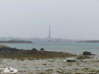 An der Felsenküste der Cote du Abers steht Frankreichs höchster Leuchtturm auf der Ile de la Vierge (82,5m).