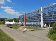 Das Euro-Space-Center in Belgien zeigt im wesentlichen den Beitrag zum europäischen Weltraumprogramm.