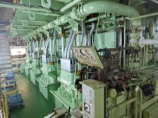 ...der fünf Stromgeneratoren, ...