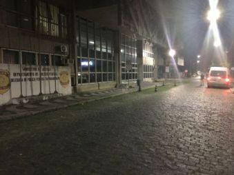 ...1 Uhr nachts - Im Kleinbus zum Emigrations-Büro - Einreise-/Ausreisestempel von Brasilien im Pass! Wieso???