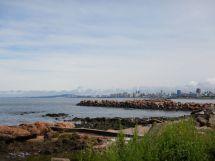 ...mit Blick auf Montevideo.