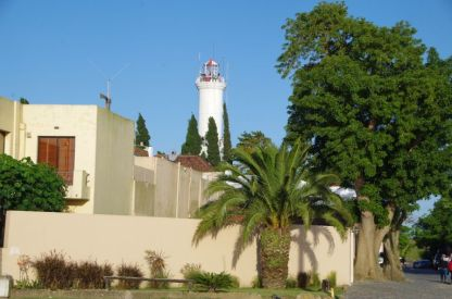 In Colonia, der ältesten Stadt Uruguays, ...
