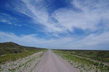 Richtung Süden an der RP1 an der Küste entlang...