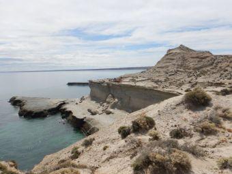 Erste Station auf der Halbinsel: Punta Piramide