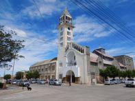 Die Kirche Senora de la Guardia im Zentrum von Puerto Deseado