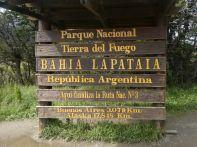 ...zum Besuch des Nationalparks und dem Ende/Beginn der Ruta 3 (Ruta Azul).