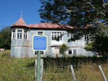 Von 1908, die Estancia Vicuna, der ehemalige Ausgangspunkt zur Erschließung des südlichen Feuerlands.
