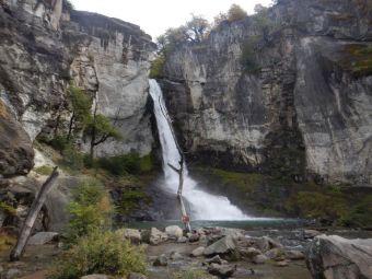 Der Chorillo del Salto liegt an der Strecke zum Lago del Desirato.