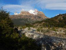 Wir entscheiden uns für eine kleine Trekkingtour zum Cerro Fitz Roy Massiv.