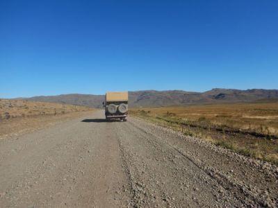 35 km vor El Maitén – Zwangsbremsung !!!
