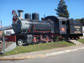 …auf der Züge u.a. mit solchen Henschel-Loks von 1922 gezogen wurden.