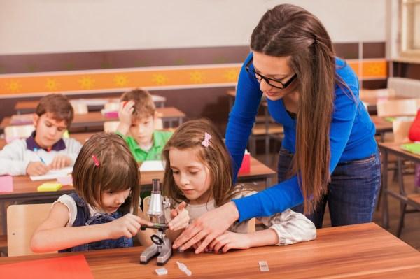 Science Teachers Working