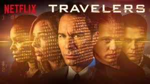 Locandina Netflix Travelers