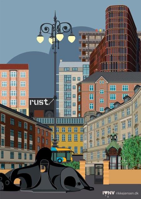Nørrebro Rust collage