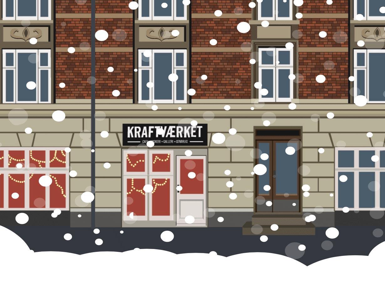 Julemarked i Kraftværket Svanevej